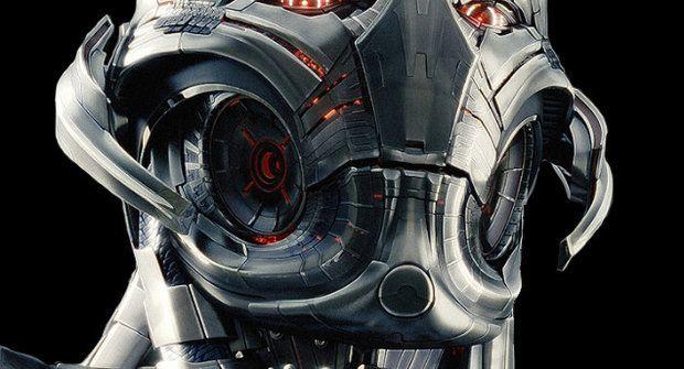 První fotka zloducha Ultrona z filmu Avengers: Age of Ultron