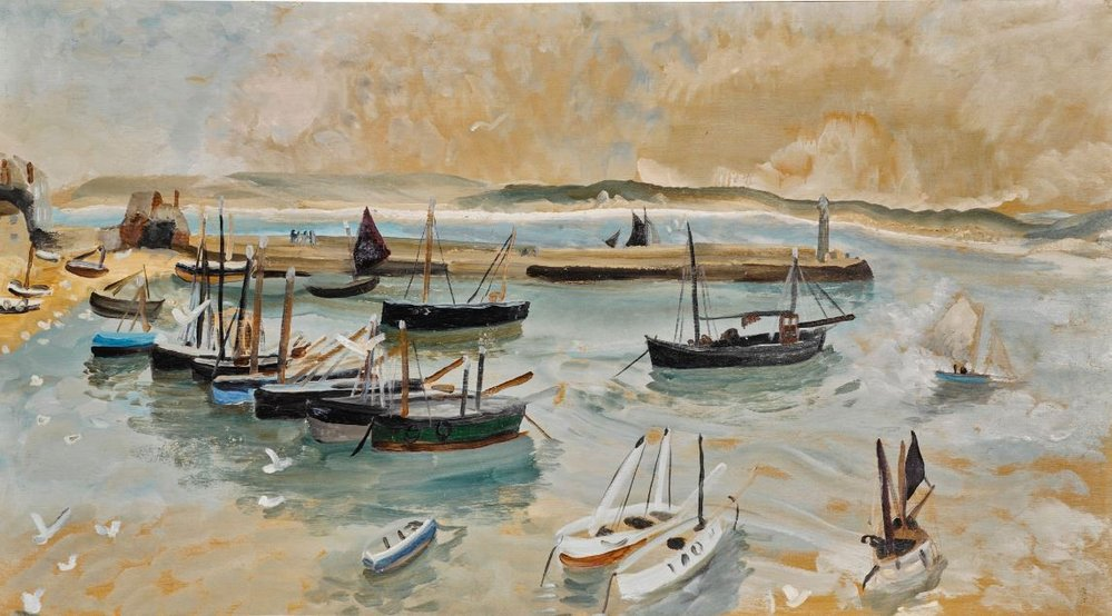 Winifred Nicholson, St Ives Harbour