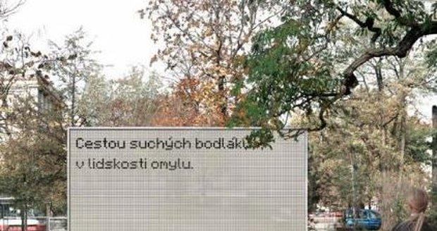 Hybridní billboard řízený umělou inteligencí vznikne v parku u nádraží Vršovice