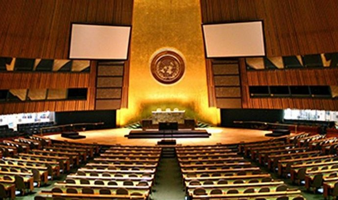 UN General Assembly by Patrick Gruban