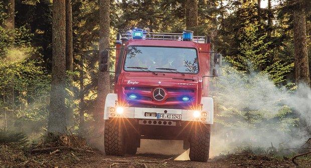 FOTO ABC: Lesní požárník