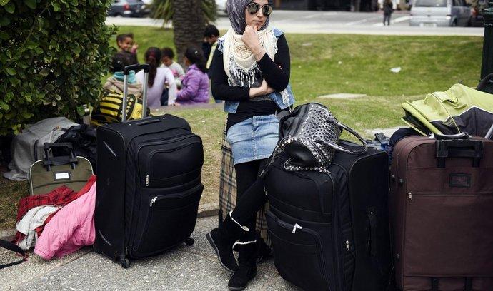 Uprchlice ze Sýrie