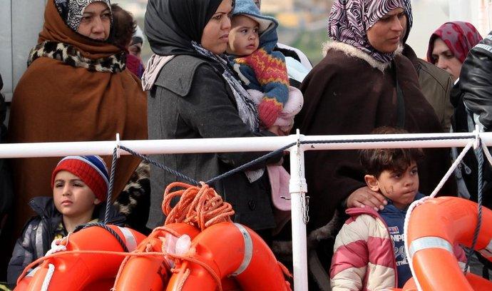 Uprchlíci z Libye zachránění u italských břehů