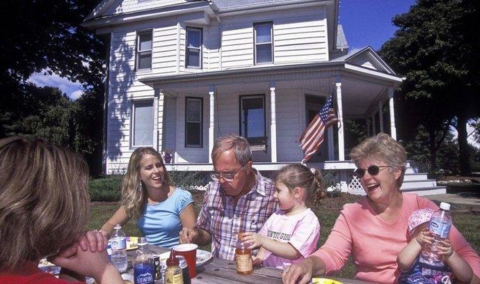 USA, rodina