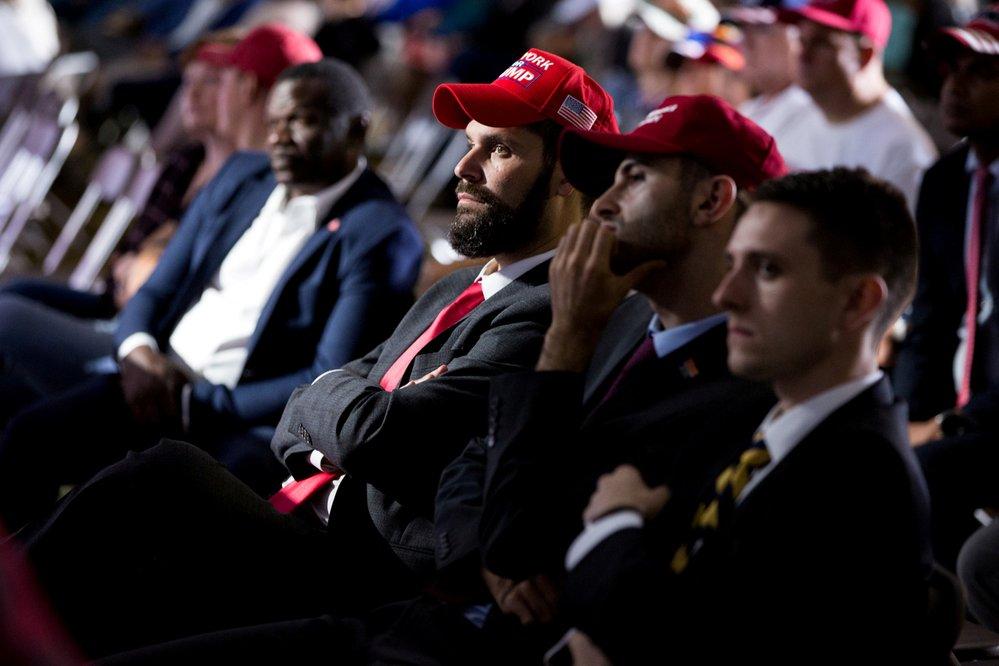 První debata kandidátů před americkými prezidentskými volbami: Fanoušci amerického prezidenta Donalda Trumpa