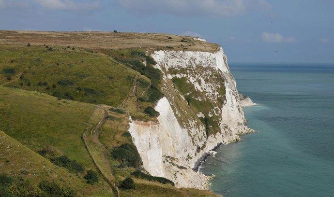 Osudný útes v Doveru.