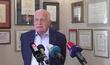 Exprezident Václav Klaus na půdě svého institut (2.9.2021)
