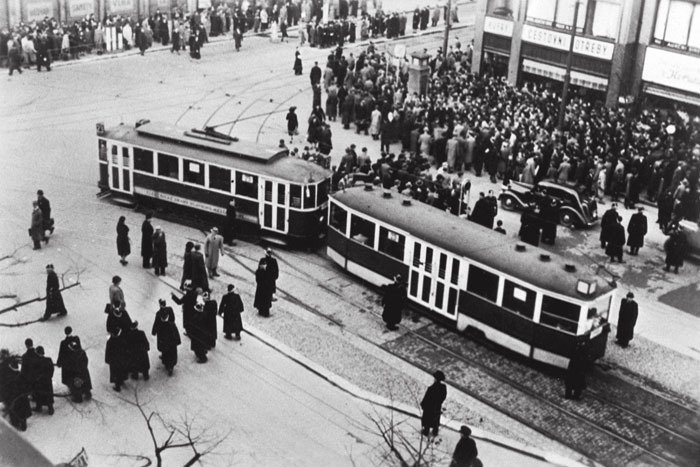 Nejen na Václavské náměstí přicházeli lidé 28. října 1939, aby projevili nesouhlas s německým protektorátem českých zemí