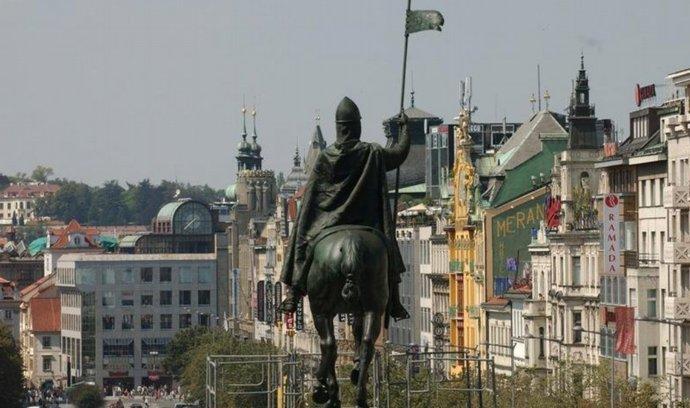 Václavské náměstí v Praze - ilustrační foto