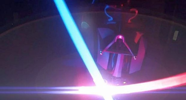 Star Wars souboj z pohledu Darth Vadera