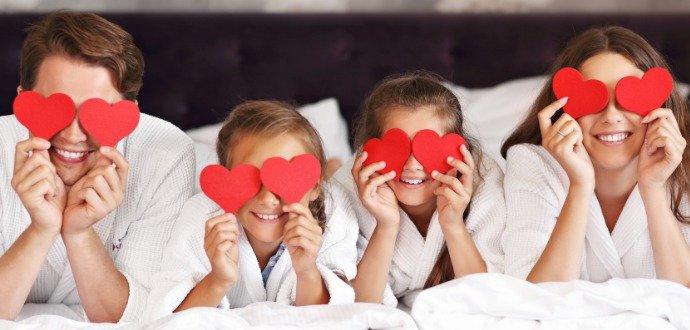 Oslavte Valentýna s dětmi – společným tvořením a pečením