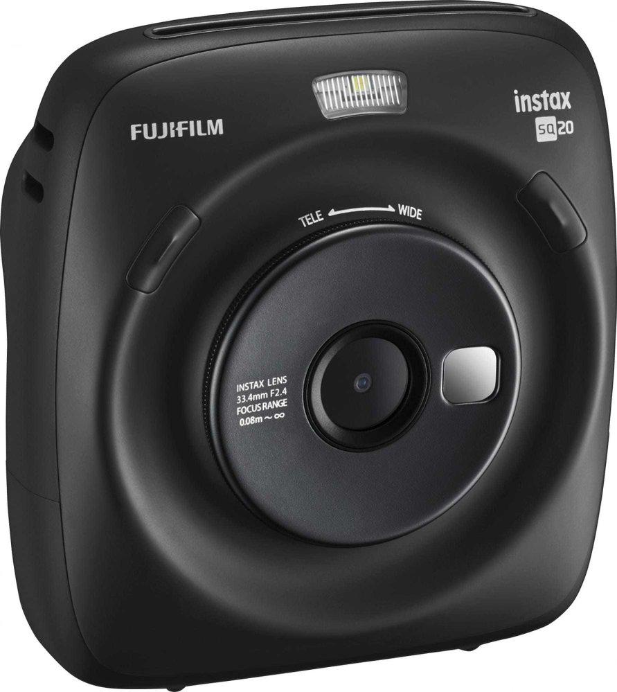 Instantní fotoaparát, FujiFilm Instax Square SQ20 Black, prodává: alza.cz, 4999 Kč