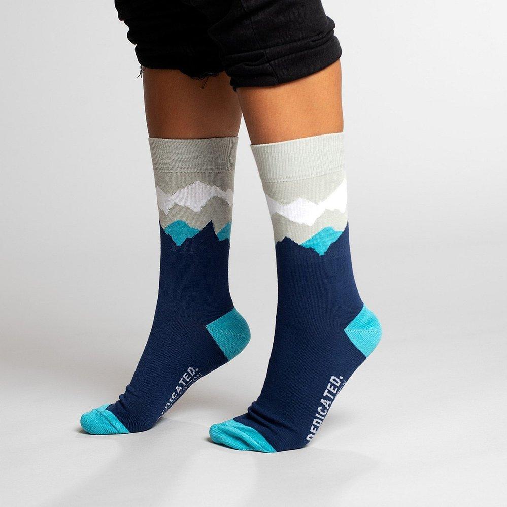Ponožky s motivem hor, EtikButik, 200 Kč