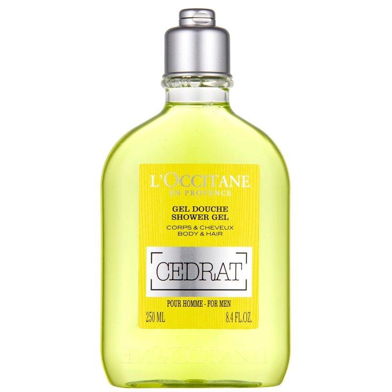 Osvěžující sprchový gel na tělo a vlasy Cedrat pro muže, L'OCCITANE, 415 Kč