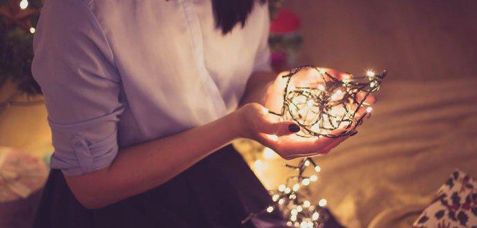 Vykouzlete vánoční atmosféru pomocí světelného řetězu