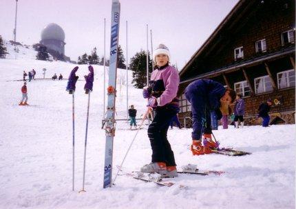 Anna vždy lyžovala