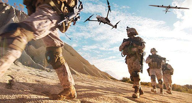 Armádní drony Vector & Scorpion fungují jako transformer