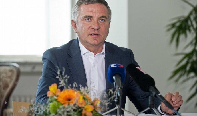 Vedoucí Kanceláře prezidenta republiky Vratislav Mynář