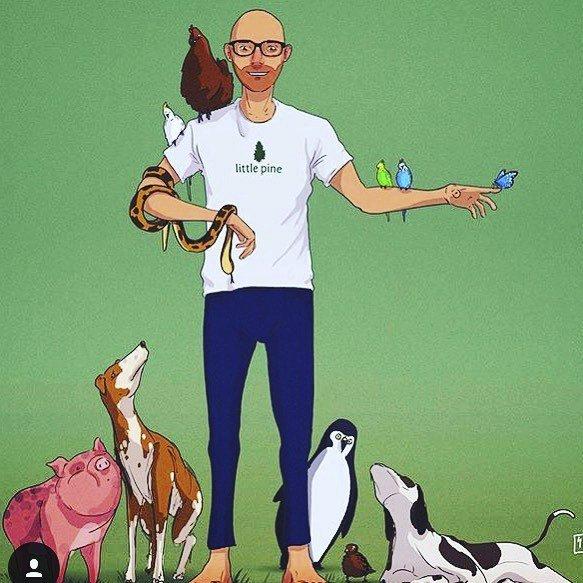 Krásní zdraví vegani.