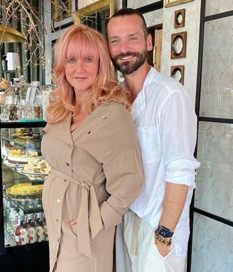Vendula Pizingerová s manželem Josefem