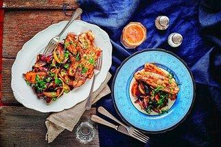 Recepty z vepřového masa: Bůček v sáčku, fantastické řízky i tradiční segedínský guláš