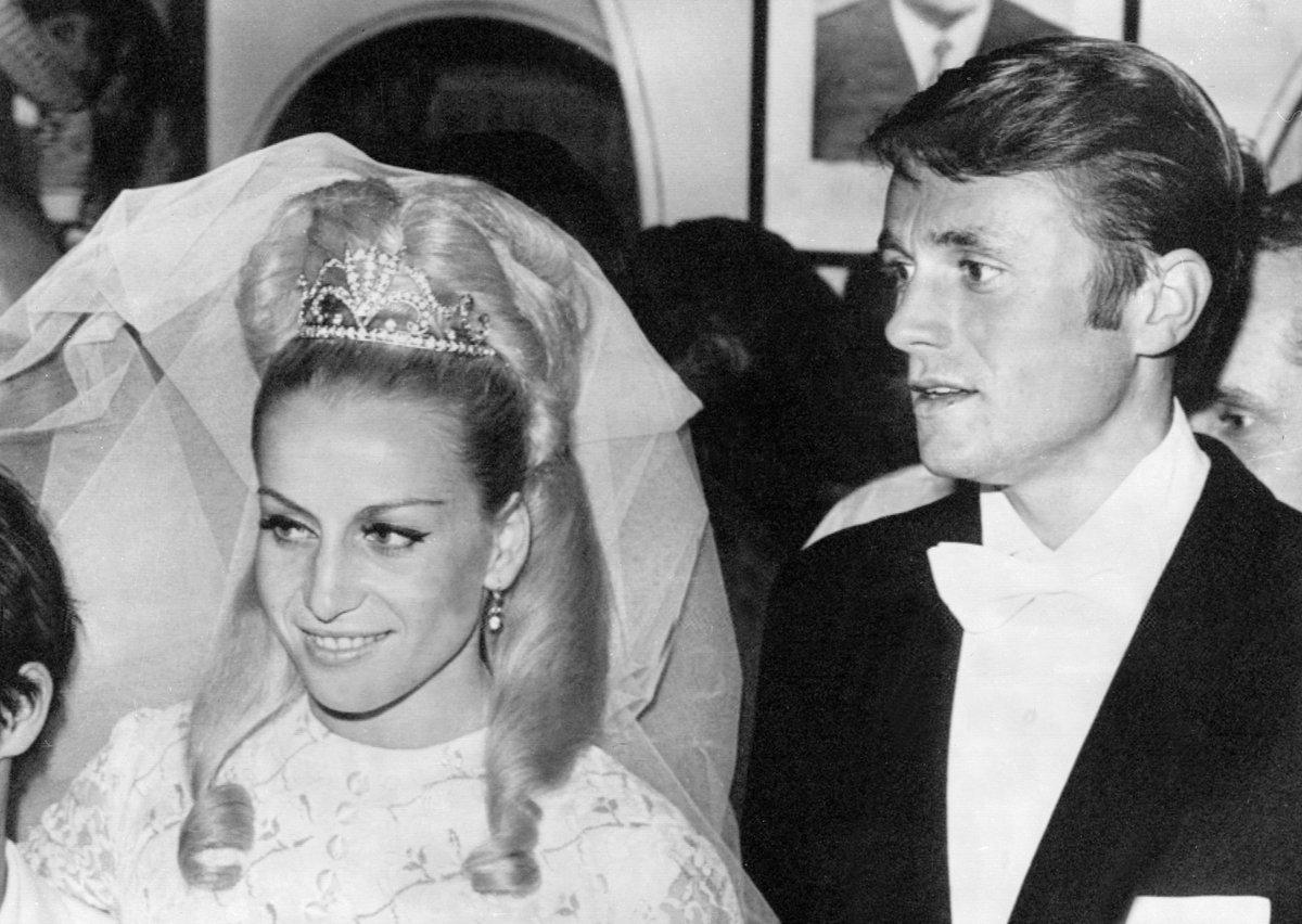 Svatba s Josefem Odložilem v Mexiku 1968.