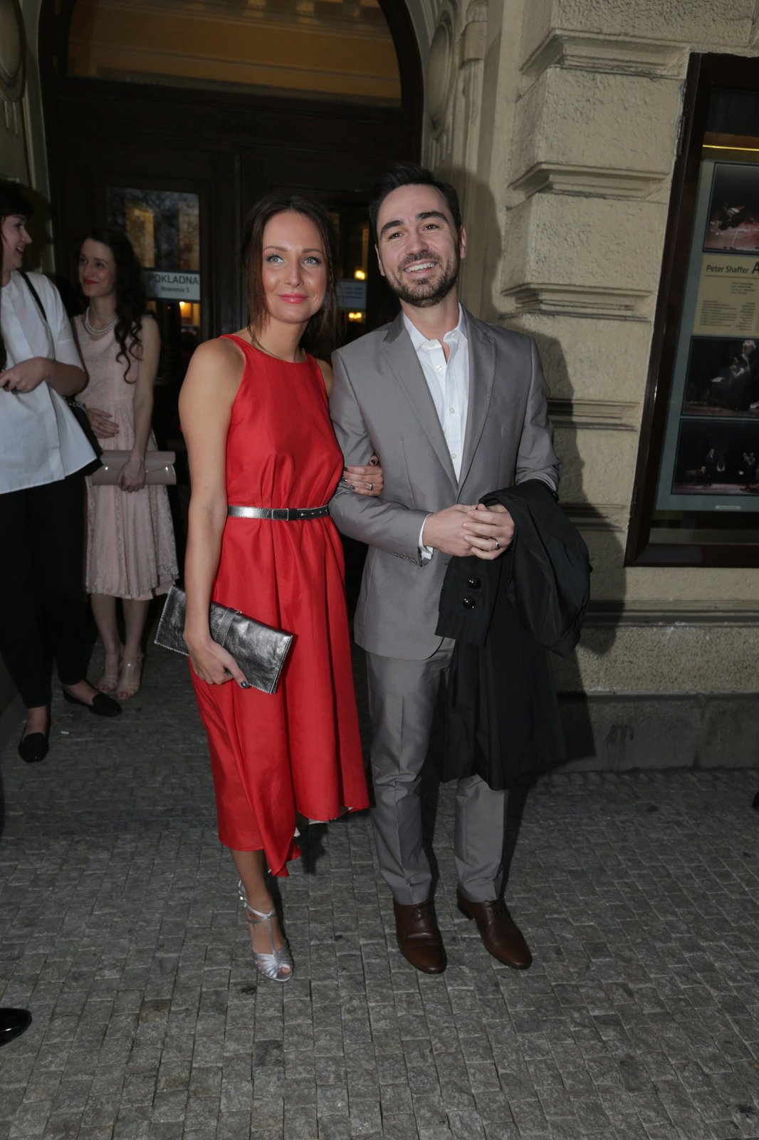 Veronika Arichteva s manželem