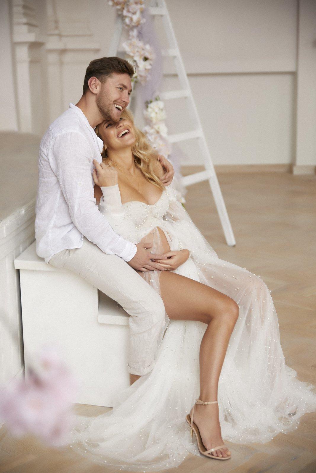 Veronika Kopřivová nafotila v těhotenství nádherné fotky.