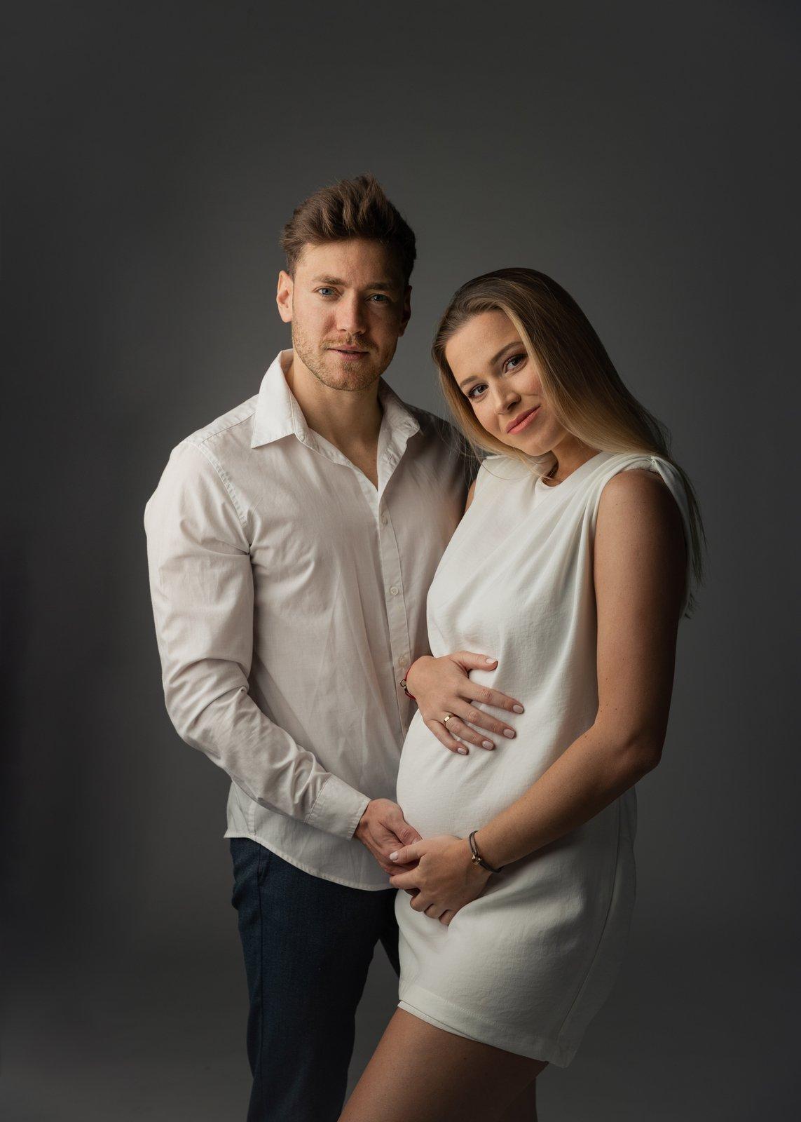 Exkluzivní fotky těhotné Veroniky Kopřivové s partnerem Miroslavem Dubovickým