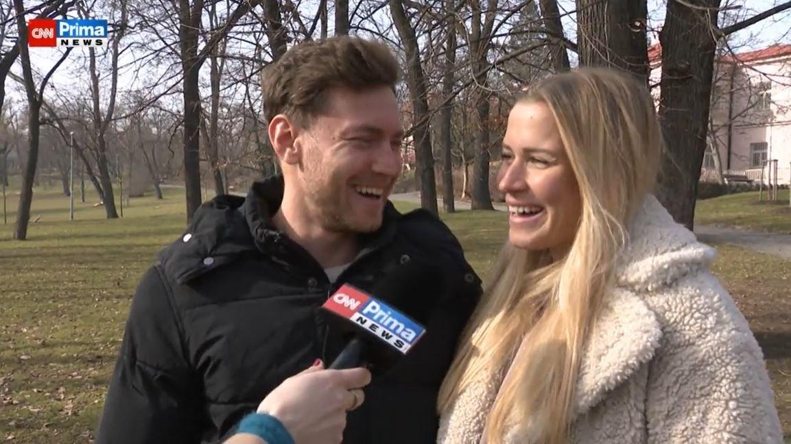 Veronika Kopřivová a Miroslav Dubovický v Showtime