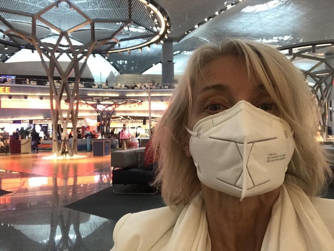 Veronika Žilková na přestupu směrem do Izraele