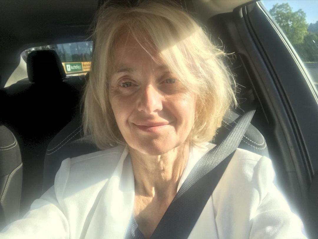 Veronika Žilková cestou na letiště