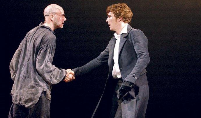 Verzi s Jonnym Lee Millerem v roli monstra a Benedictem Cumberbatchem jako Frankensteinem uvidí čeští diváci dnes vůbec poprvé