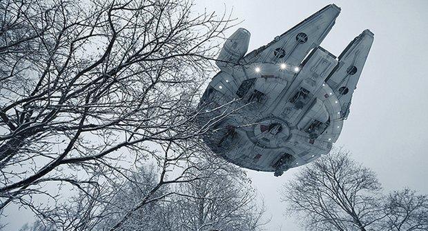 Neuvěřitelné fotky se Star Wars: Hra nebo skutečnost?