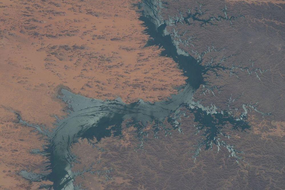 Meandry Nilu v Egyptě