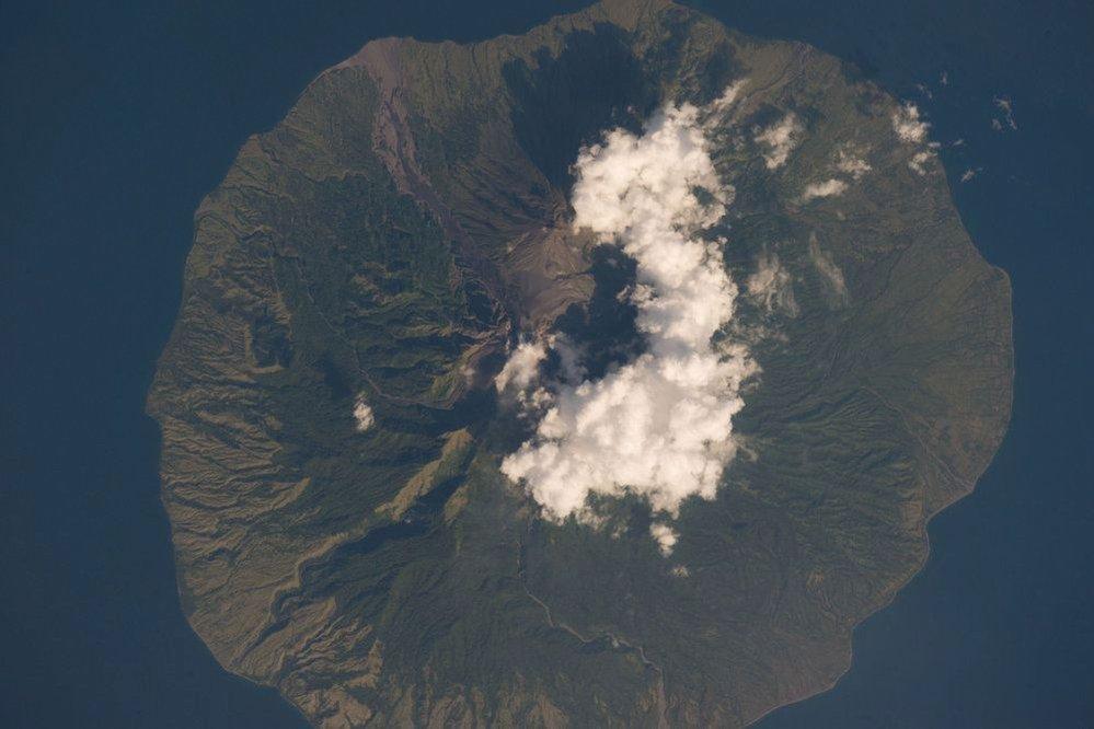 Sopka Sangeang Api v Indonésii