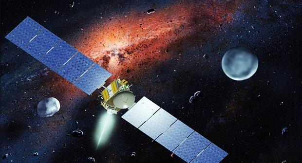 Planetka Vesta je jako ledová brambora