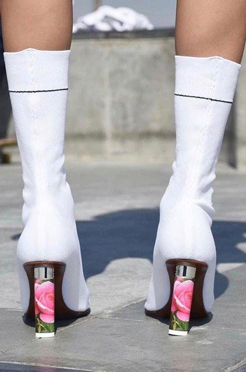 Vetements boty s podpatkem ve tvaru zapalovače