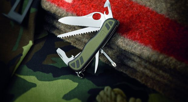Nůž Victorinox Soldier vznikl na zakázku švýcarské armády