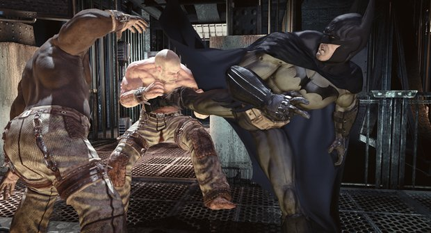 S Batmanem v doupěti šílenců