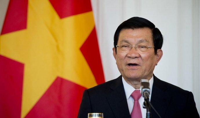 Vietnamský prezident Truong Tan Sang