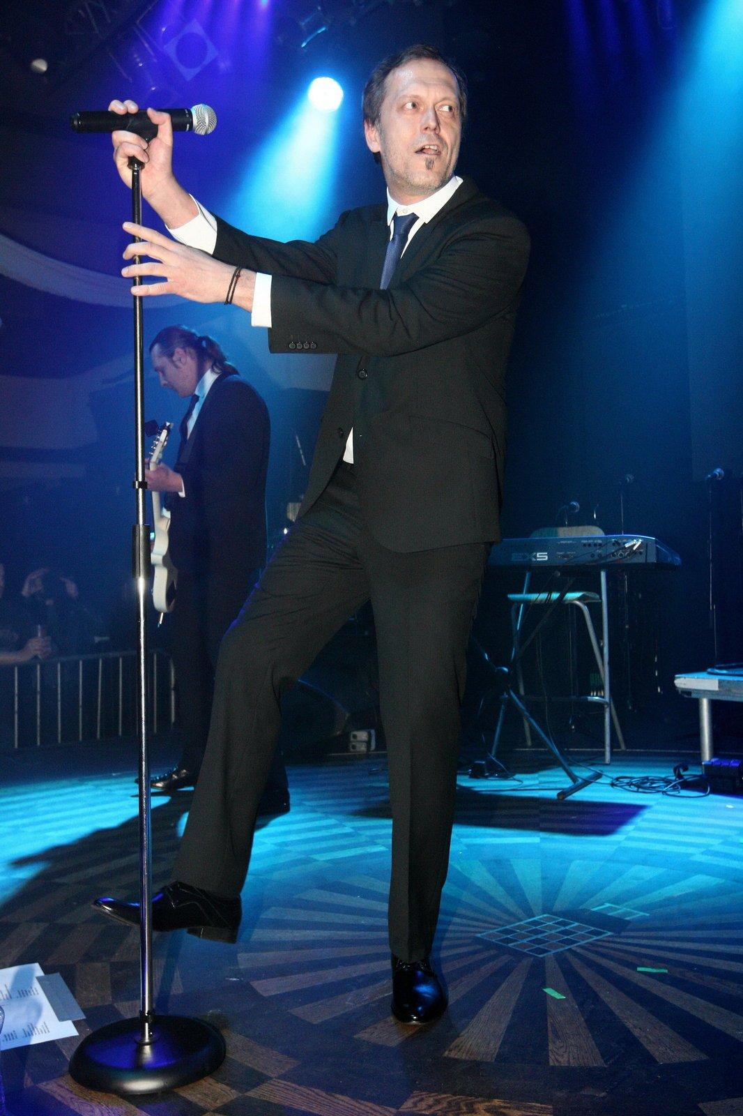 Viktor Dyk během vystoupení.
