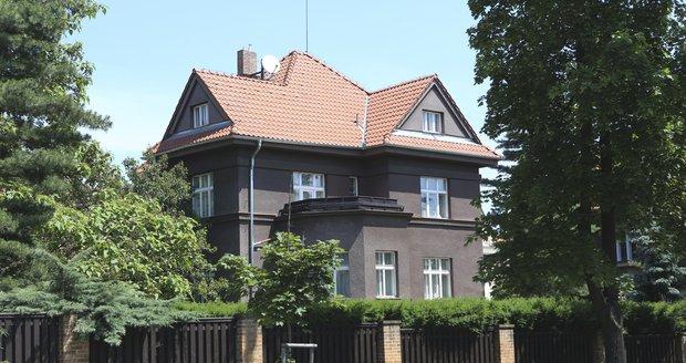 Luxusní vila na pražských Vinohradech