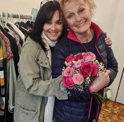 Regina Rázlová a Tereza Brodská