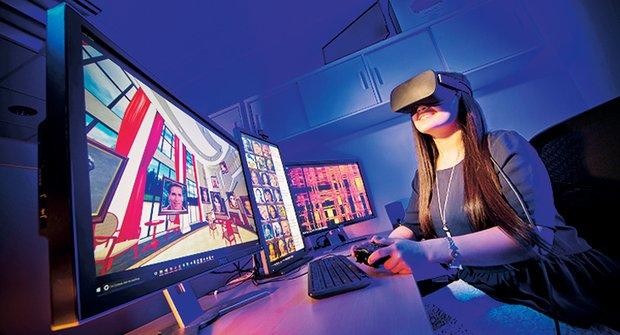 Virtuální realita ve vaší škole: Připrav se, studente, začínáme!