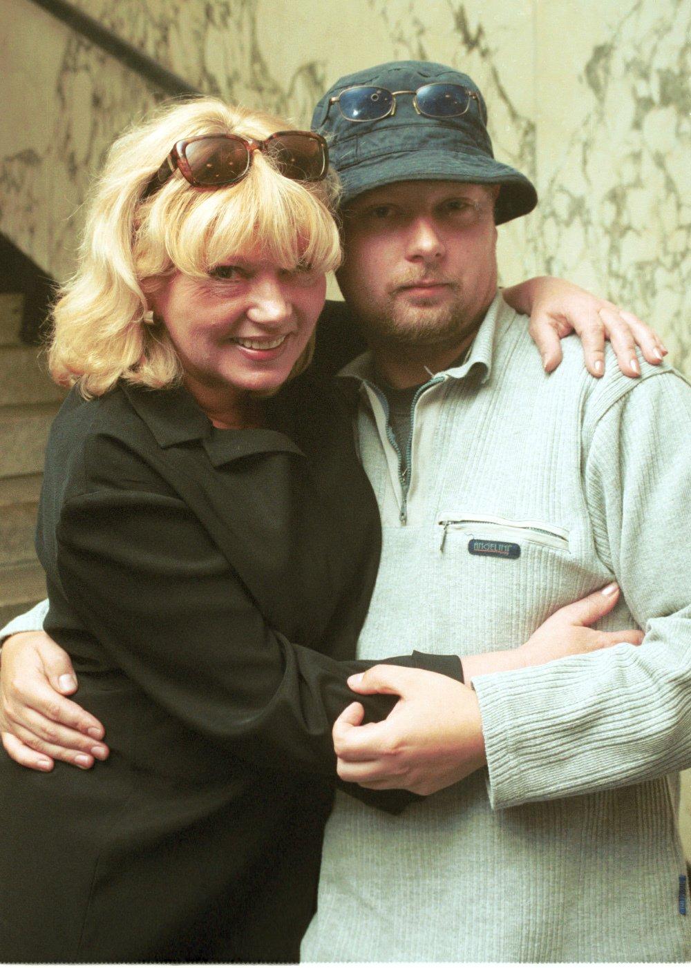 Vyženěný syn Adam Pavlík se svou mámou Věrou Špinarovou (†65).