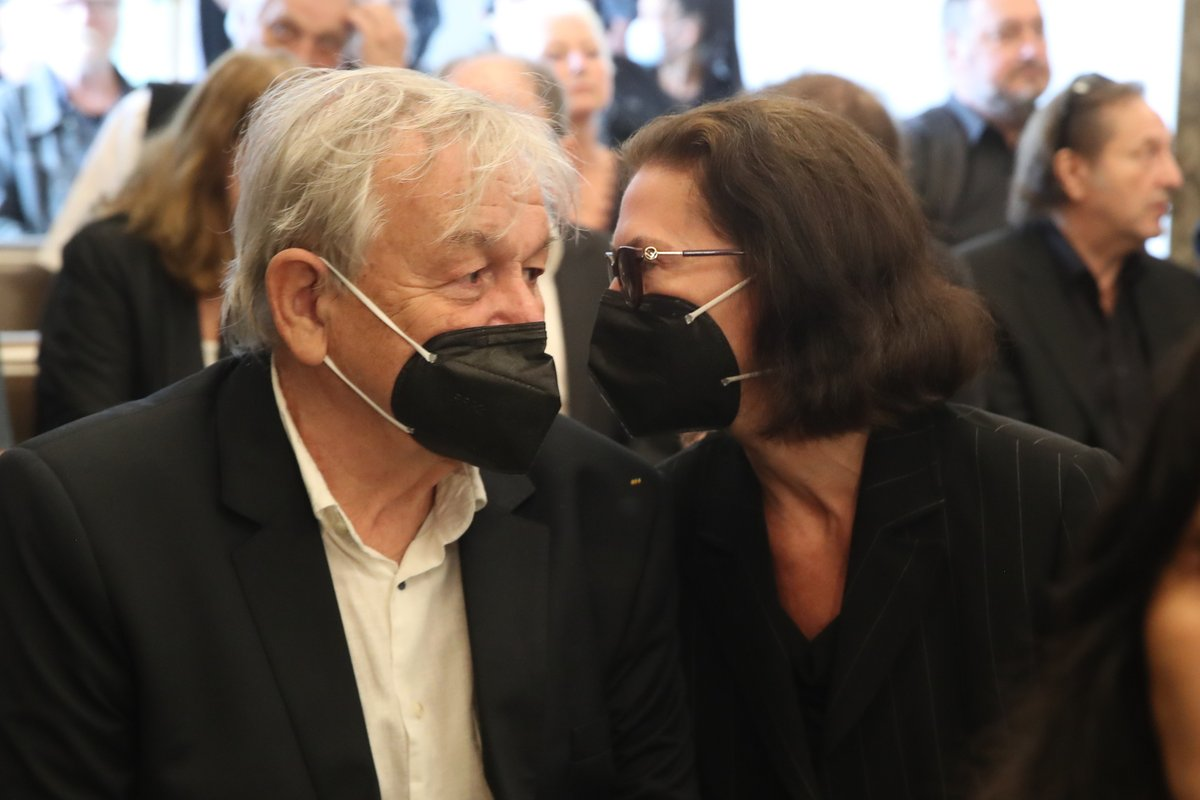 Karel Šíp s manželkou.