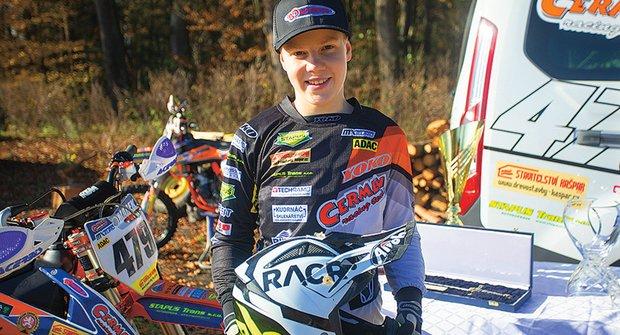 Zlatý oříšek ABC: Vítězslav Marek jezdí motokros od pěti let