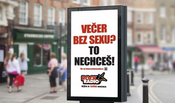 """Vizuál sítě RockRadií ke kampani """"To nechceš!"""""""
