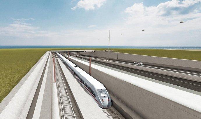 Estonsko-finský tunel se má inspirovat mimo jiné stavbou tunelu pod Fehmarnovou úžinou (na snímku)